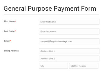 general purpose payment form